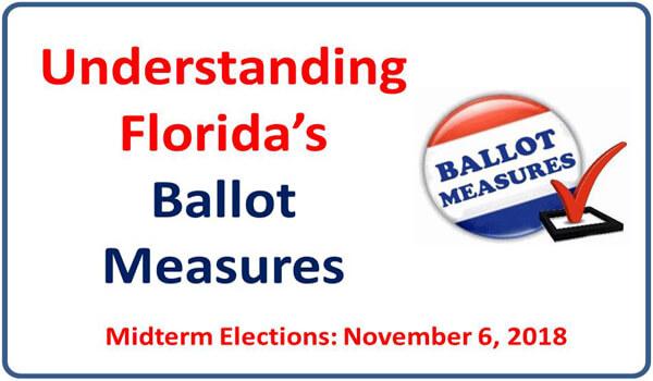Understanding Florida's 2018 ballot measures