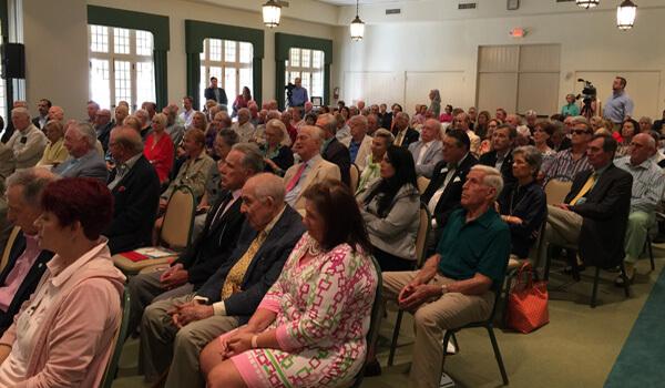 Crowd at Civic Association Community Election Forum