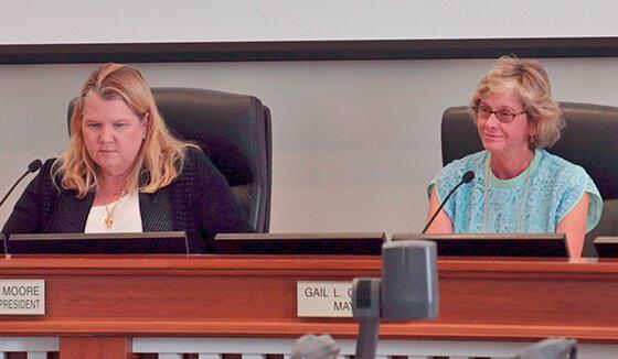Councilwoman Dani Moore & Mayor Gail Coniglio