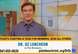 Dr. Oz Ad for Annual Awards Luncheon
