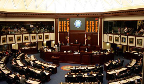 Florida House Legislative Chamber