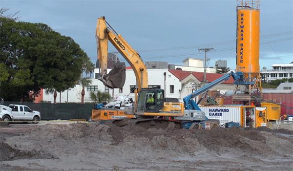 Testas Site Construction Jan 2018