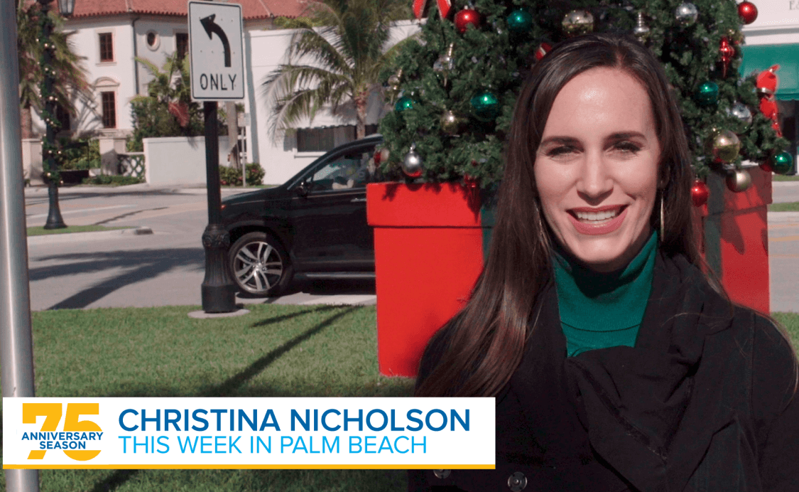 This Week in Palm Beach – November 30, 2018