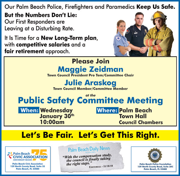 Town of Palm Beach Public Safety Committee Meeting