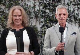Julie Araskog & Rene Silvin
