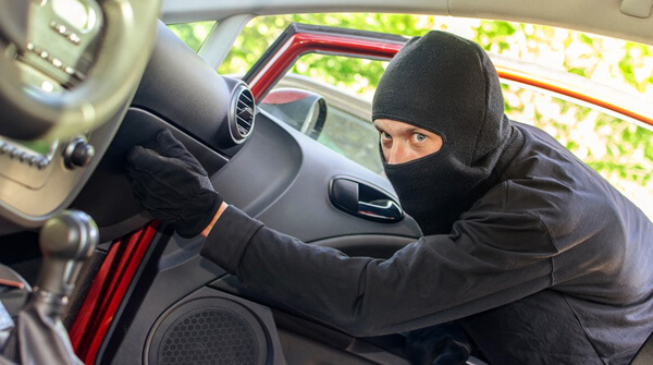 Auto Burglary in the Town of Palm Beach